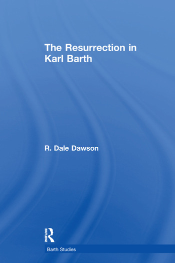 The Resurrection in Karl Barth book cover