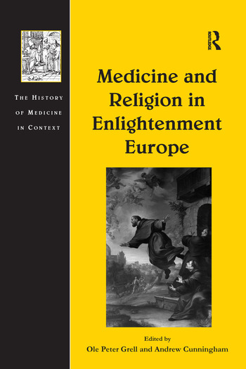 Medicine and Religion in Enlightenment Europe book cover