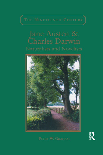 Jane Austen & Charles Darwin Naturalists and Novelists book cover