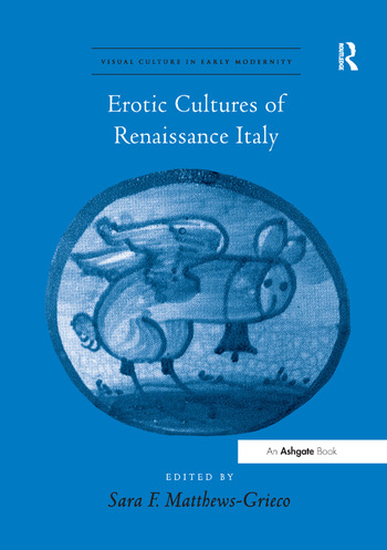 Erotic Cultures of Renaissance Italy book cover