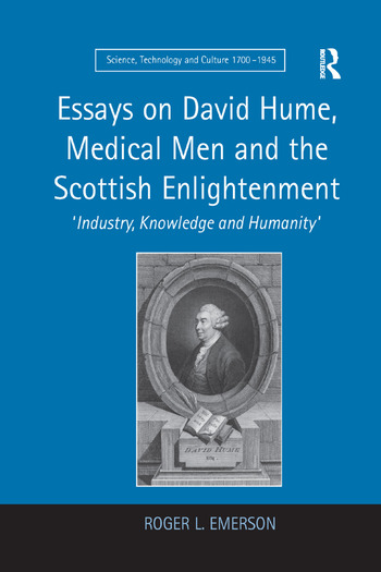 Essays on David Hume, Medical Men and the Scottish Enlightenment 'Industry, Knowledge and Humanity' book cover