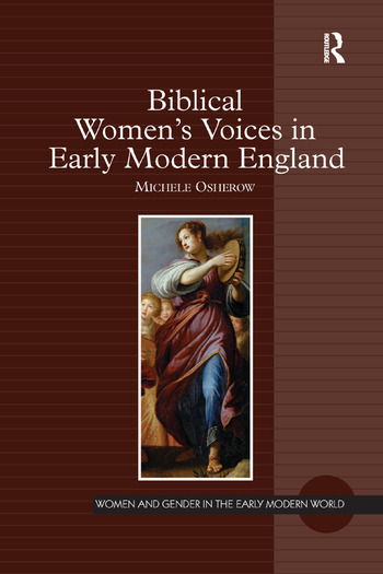 Biblical Women's Voices in Early Modern England book cover