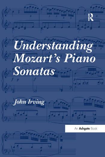 Understanding Mozart's Piano Sonatas book cover