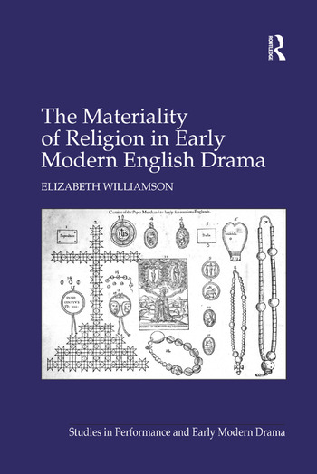 The Materiality of Religion in Early Modern English Drama book cover