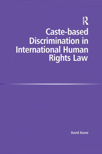 Caste-based Discrimination in International Human Rights Law book cover