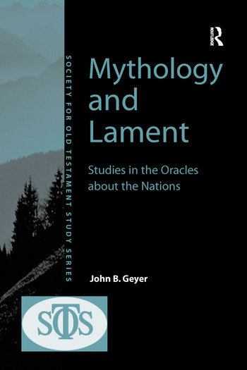 Mythology and Lament Studies in the Oracles about the Nations book cover