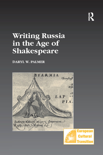 Writing Russia in the Age of Shakespeare book cover
