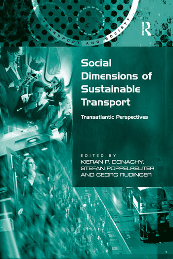 Social Dimensions of Sustainable Transport Transatlantic Perspectives book cover