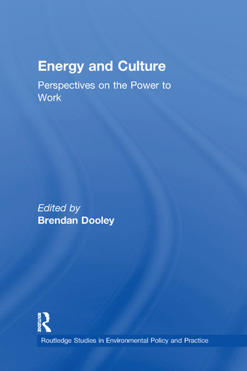 Energy and Culture Perspectives on the Power to Work book cover