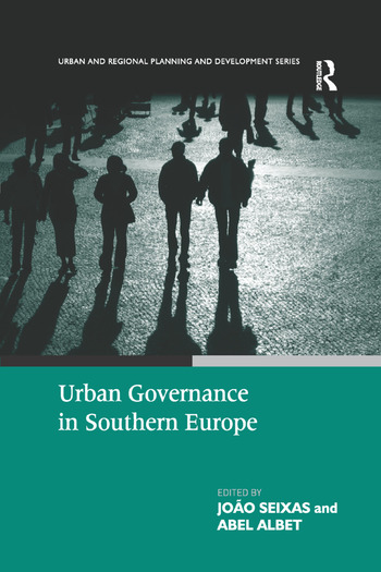 Urban Governance in Southern Europe book cover