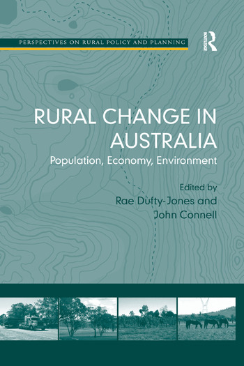 Rural Change in Australia Population, Economy, Environment book cover