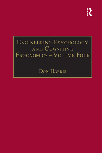Engineering Psychology and Cognitive Ergonomics Volume 4: Job Design, Product Design and Human-computer Interaction book cover