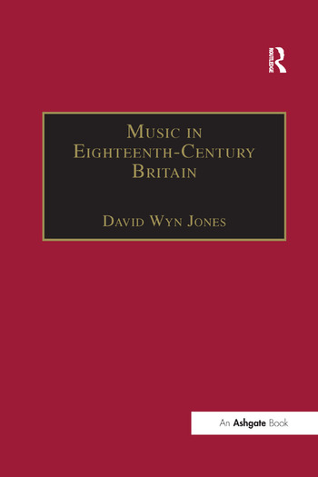 Music in Eighteenth-Century Britain book cover