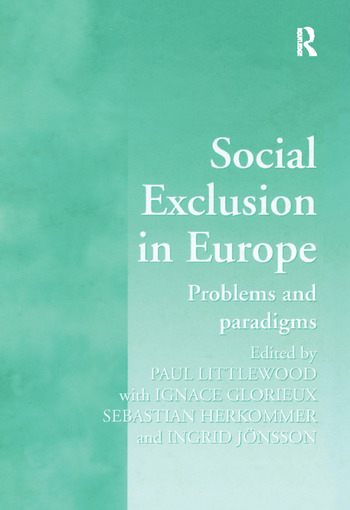 Social Exclusion in Europe Problems and Paradigms book cover