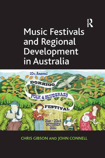 Music Festivals and Regional Development in Australia book cover