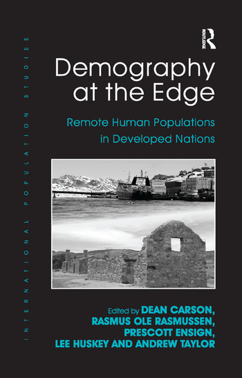 Demography at the Edge Remote Human Populations in Developed Nations book cover