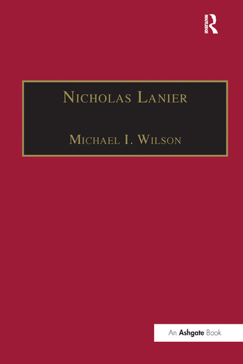 Nicholas Lanier Master of the King's Musick book cover