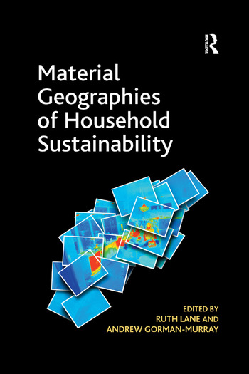 Material Geographies of Household Sustainability book cover