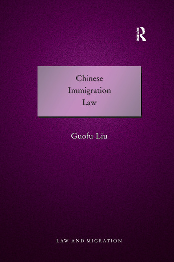 Chinese Immigration Law book cover