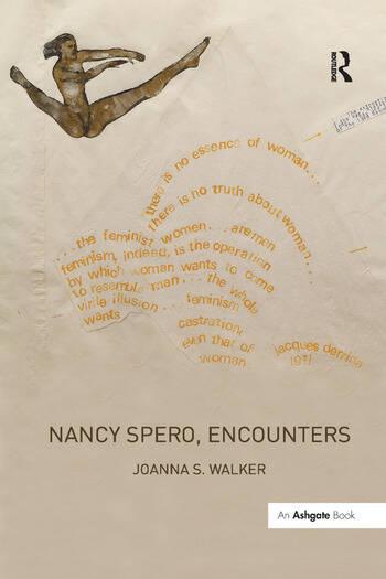 Nancy Spero, Encounters book cover