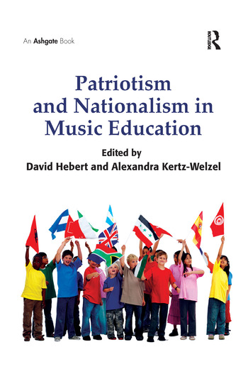 Patriotism and Nationalism in Music Education book cover
