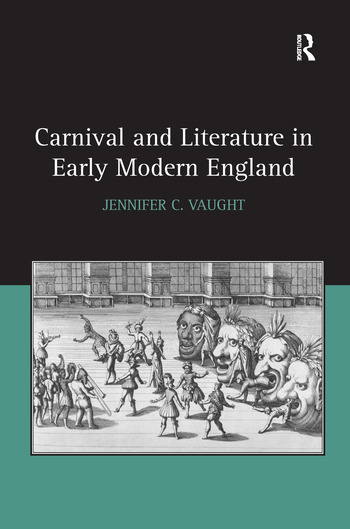 Carnival and Literature in Early Modern England book cover