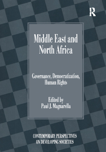 Middle East and North Africa Governance, Democratization, Human Rights book cover