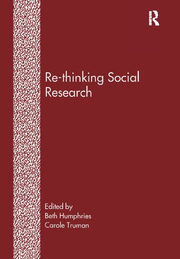Re-Thinking Social Research Anti-Discriminatory Approaches in Research Methodology book cover