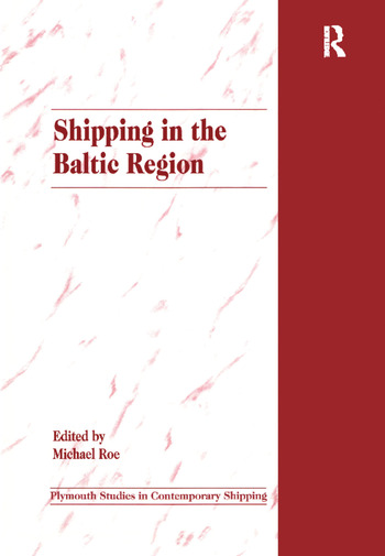 Shipping in the Baltic Region book cover