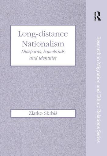 Long-Distance Nationalism Diasporas, Homelands and Identities book cover
