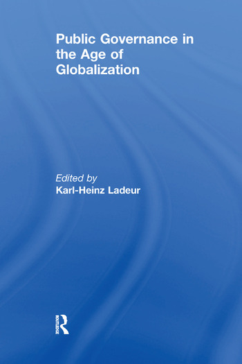 Public Governance in the Age of Globalization book cover
