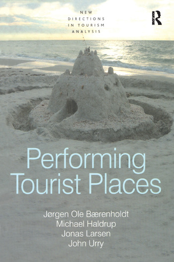 Performing Tourist Places book cover