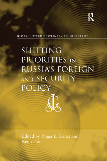 Shifting Priorities in Russia's Foreign and Security Policy book cover