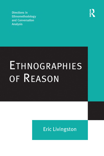 Ethnographies of Reason book cover
