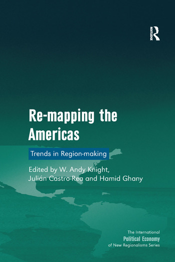 Re-mapping the Americas Trends in Region-making book cover