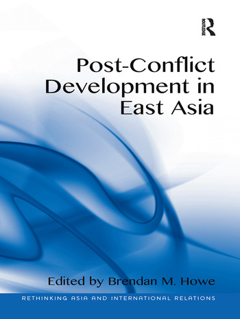 Post-Conflict Development in East Asia book cover