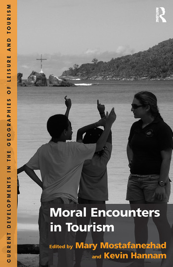 Moral Encounters in Tourism book cover