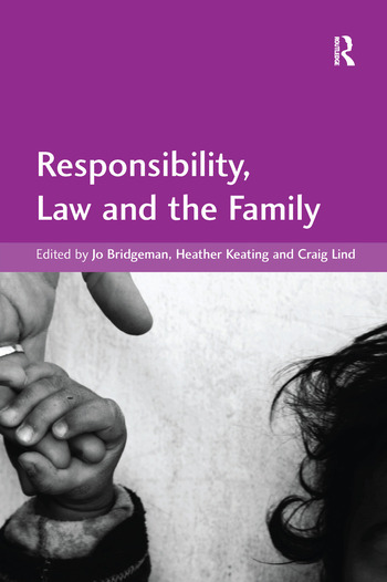 Responsibility, Law and the Family book cover