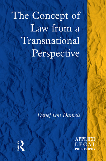 The Concept of Law from a Transnational Perspective book cover