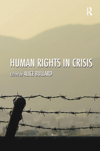 Human Rights in Crisis book cover