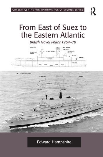 From East of Suez to the Eastern Atlantic British Naval Policy 1964-70 book cover