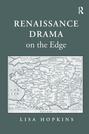 Renaissance Drama on the Edge book cover