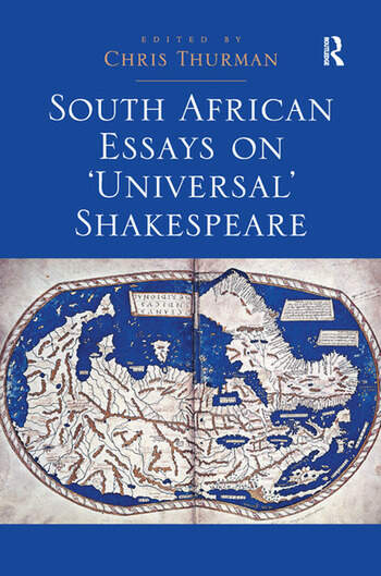 South African Essays on 'Universal' Shakespeare book cover