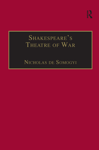 Shakespeare's Theatre of War book cover