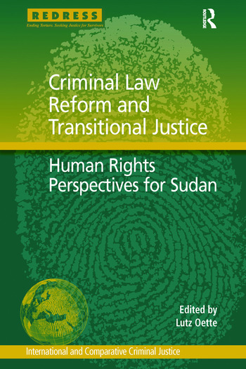 Criminal Law Reform and Transitional Justice Human Rights Perspectives for Sudan book cover