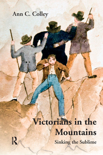 Victorians in the Mountains Sinking the Sublime book cover