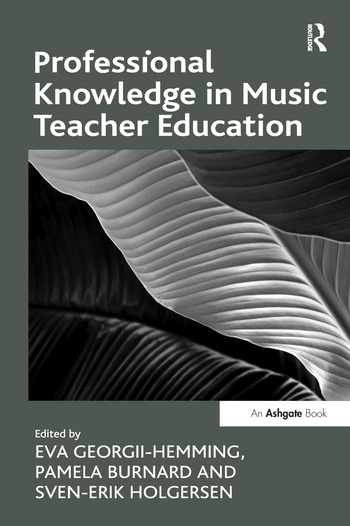 Professional Knowledge in Music Teacher Education book cover