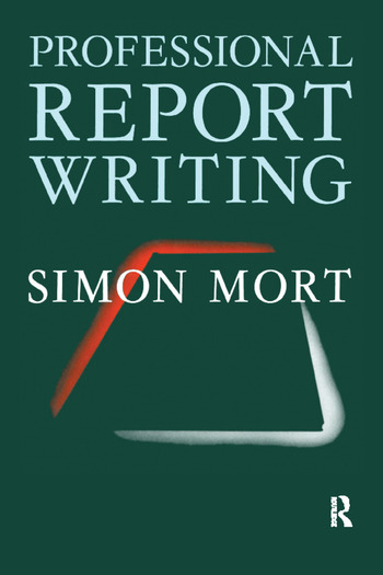 Professional Report Writing book cover