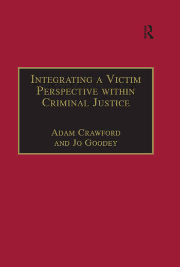 Integrating a Victim Perspective within Criminal Justice International Debates book cover