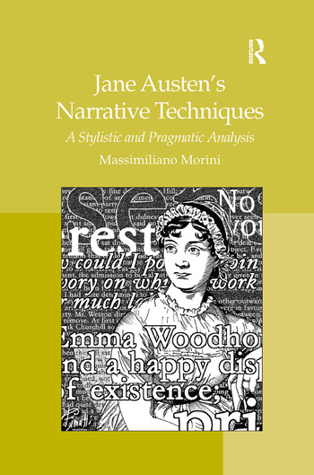 Jane Austen's Narrative Techniques A Stylistic and Pragmatic Analysis book cover
